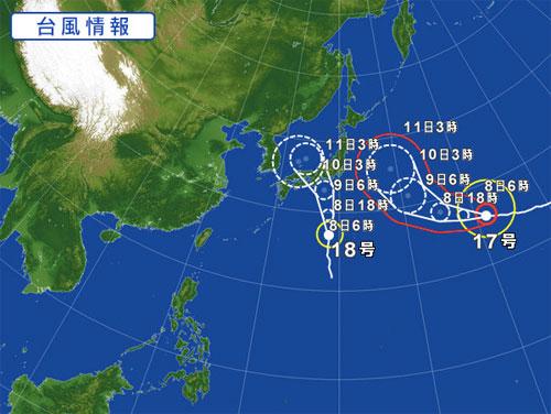 台風150908