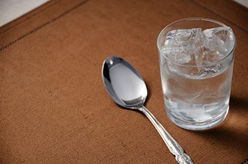 カレーと水